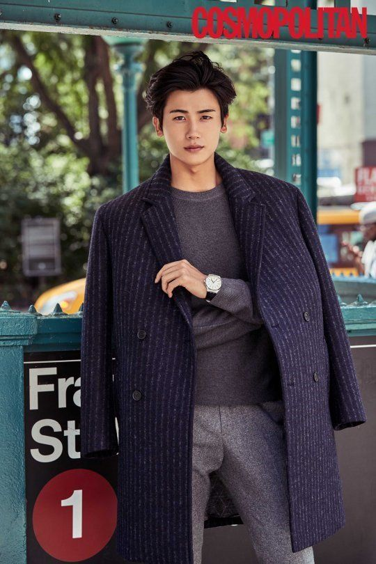 ZE:A's Hyungsik turns into a stylish New Yorker for 'Cosmopolitan' | allkpop.com