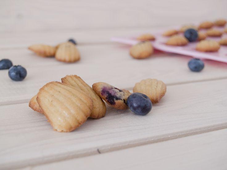Madeleines sin azúcar, sin gluten y sin harinas refinadas