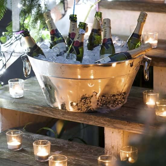 Rustic party idea