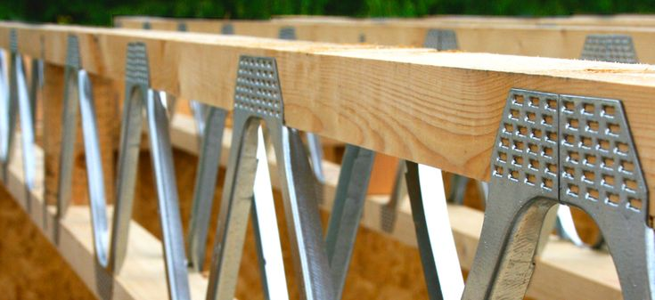 Floor Joists Steel Frame House Timber Structure Wood