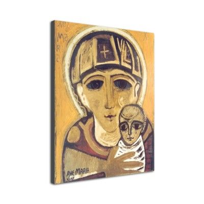 Icono 'Virgen de Adviento' (Lienzo)