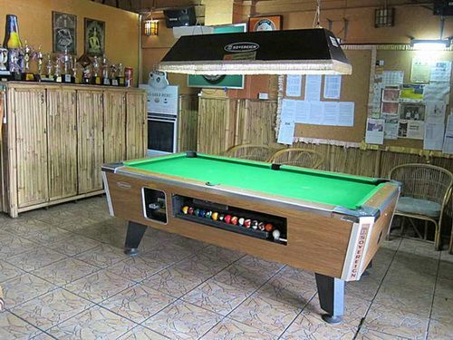 25 best ideas about small pool table on pinterest - Small pool table ...