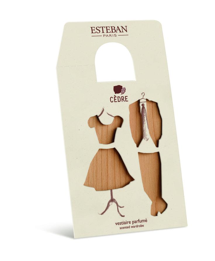 Vestiaire parfumé de chez Esteban Paris