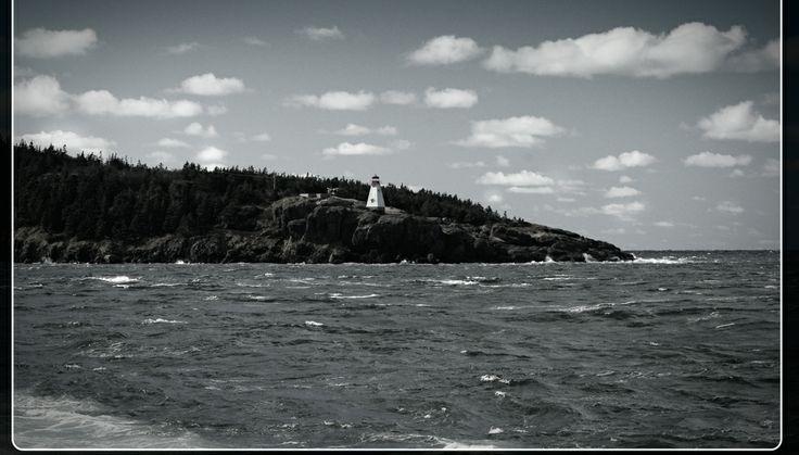 On the shore ... Tiverton NS