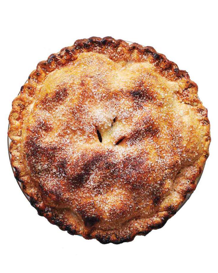 Thanksgiving Entertaining: Brown-Butter Apple Pie Recipe