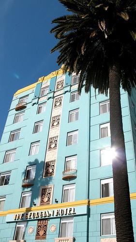 he Georgian Hotel, Santa Monica by aprilbaby