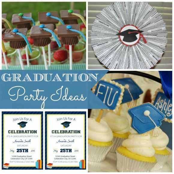 graduation food   ... Scrub, Monster Parties, and Graduation Party Ideas   Catch My Party