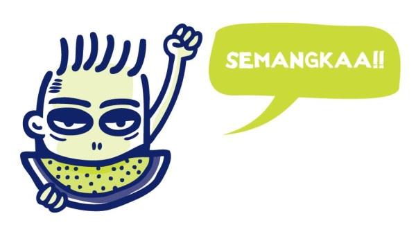 SEMANGKAA!! a.k.a Semangat Kakaaa!! #BTDTGTTS