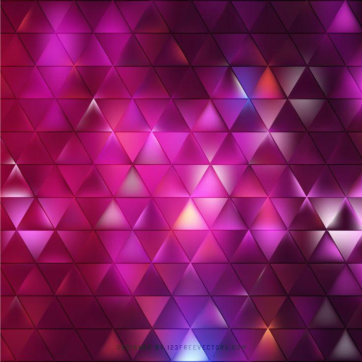 Purple Triangle Background Template  - https://www.123freevectors.com/purple-triangle-background-template-81267/