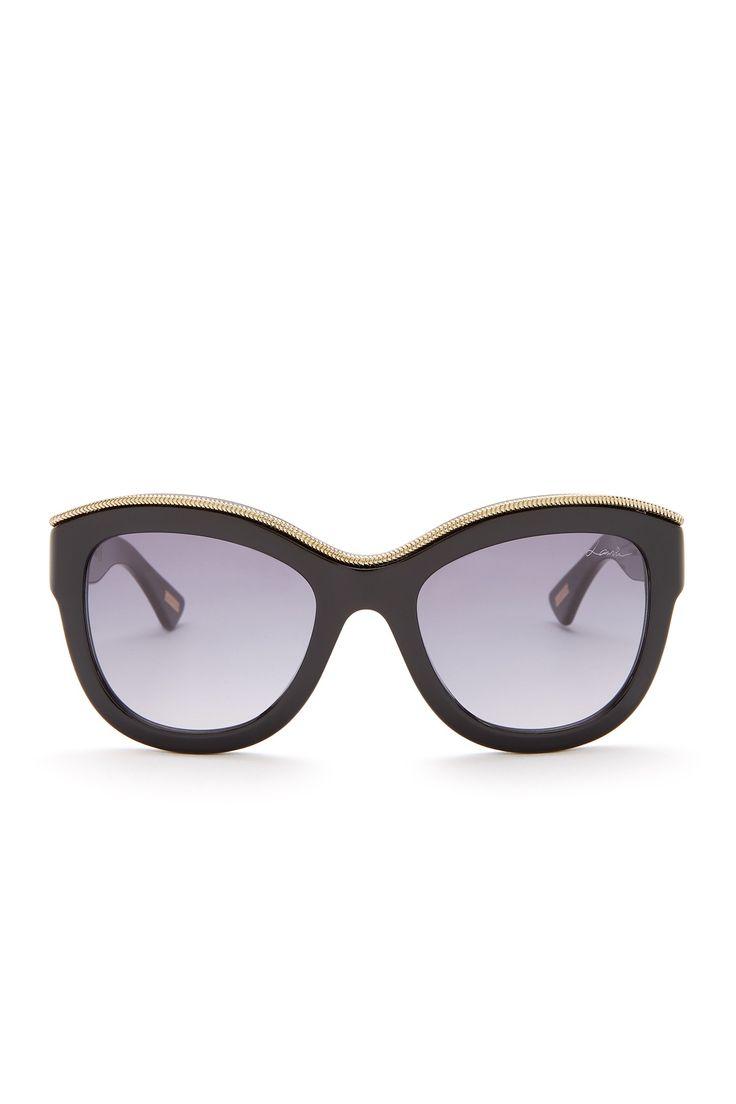 Women's Oversized Sunglasses by Lanvin on @nordstrom_rack