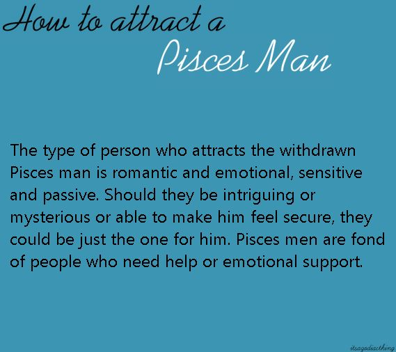 What turns a pisces man on