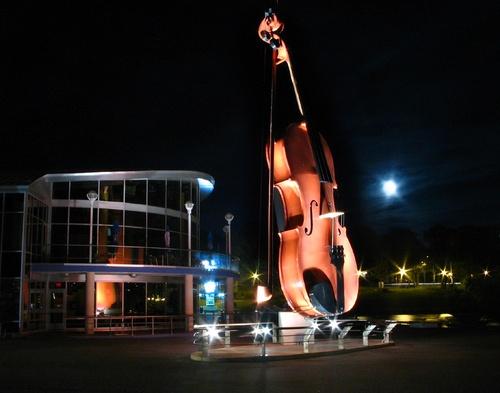 Giant Fiddle Sydney Cape Breton N.S.