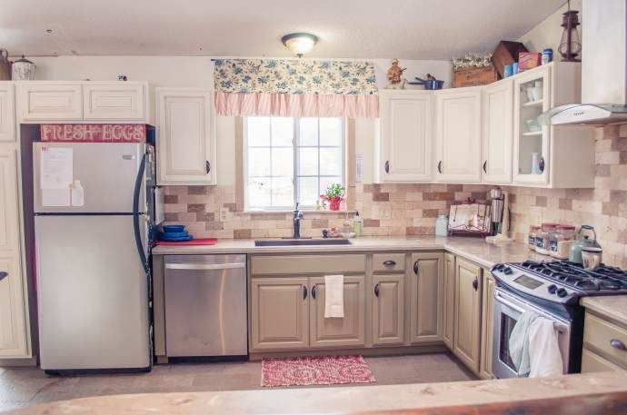 Beautiful manufactured home decorating ideas kitchen 4 for Mobile home kitchen makeover ideas