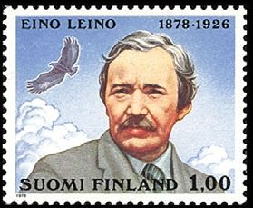 Centenary of the birth of the writer Eino Leino,1978 Finland