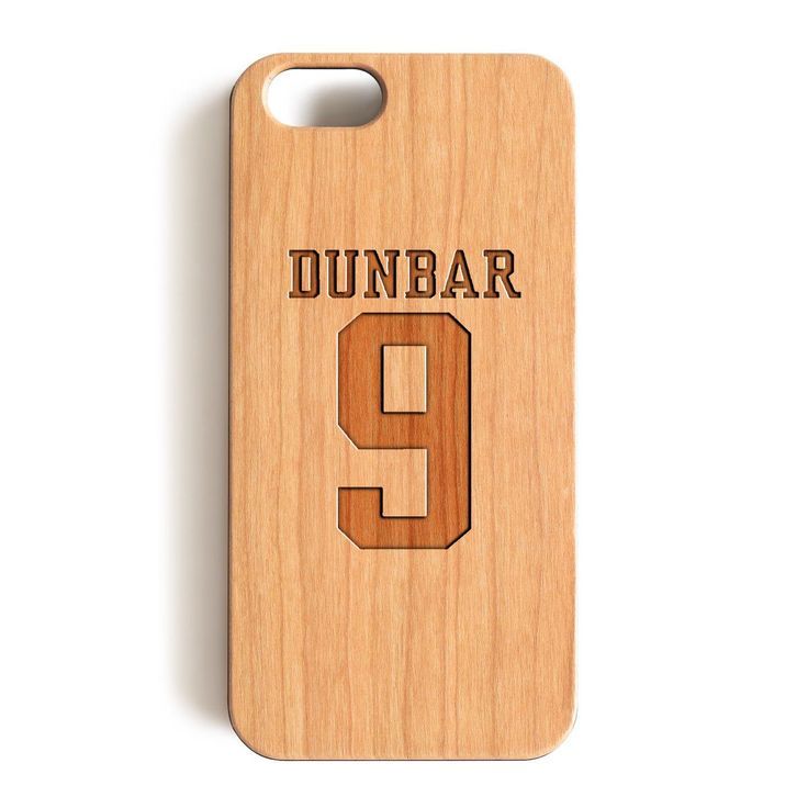 iPhone 7 Wood Case, Teen Wolf Liam Dunbar Inspired Jersey Wood-Pattern Case For iPhone 7 case 4.7""