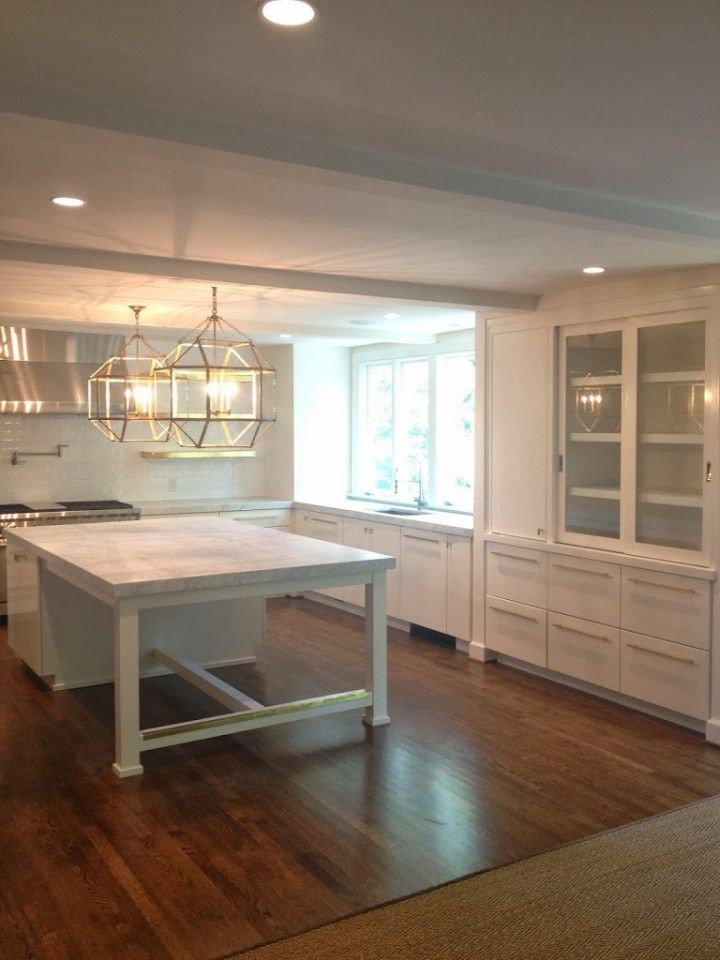 kitchen+family room renovation via Pencil and Paper Co