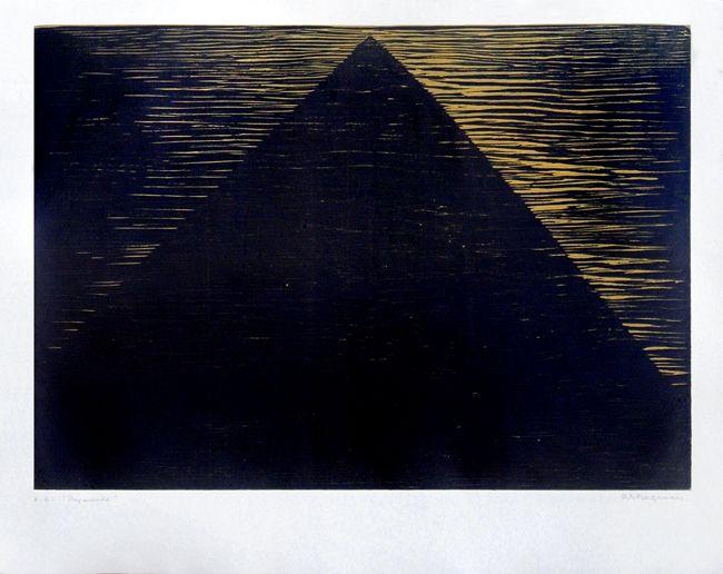 Anna-Eva Bergman - Pyramid