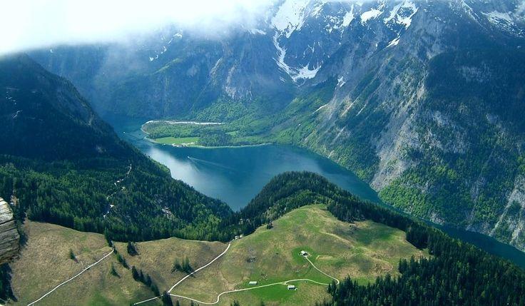 Breathtaking landscape over the Danube - Mehedinti County. Romania