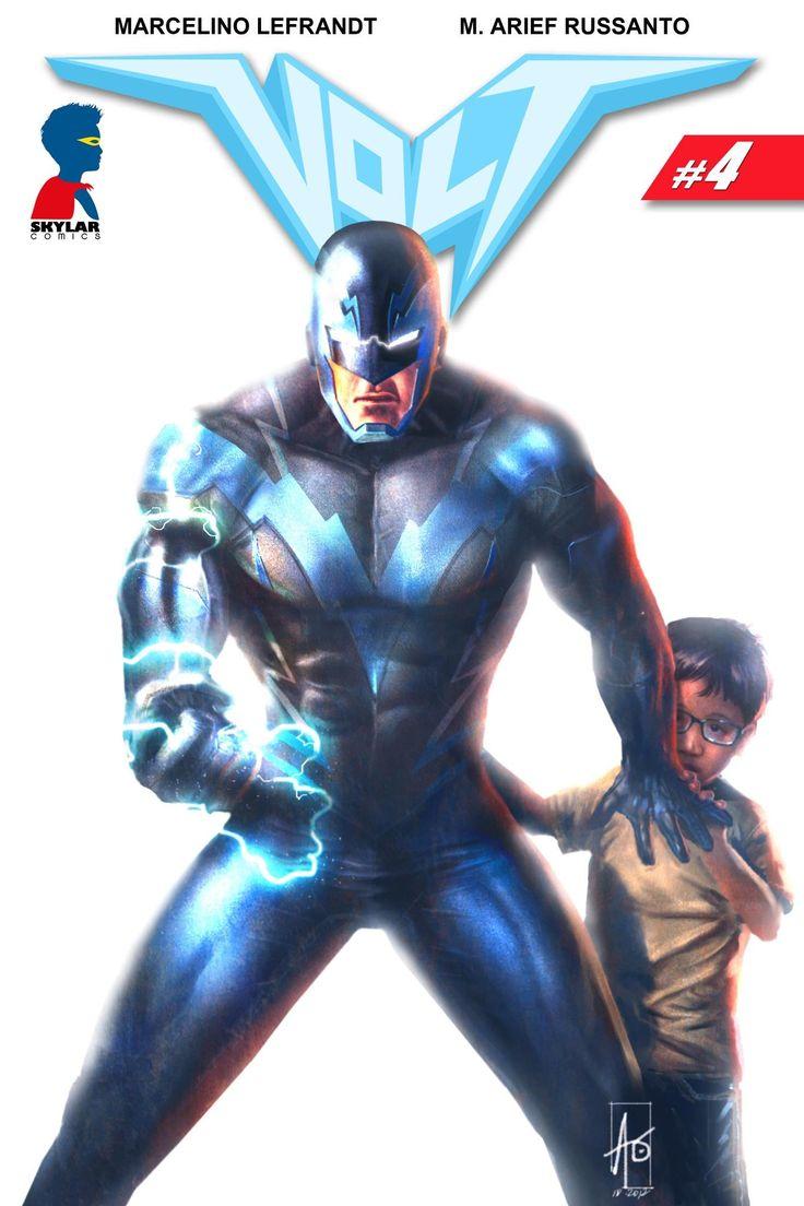Volt 5 #indonesian#superhero#comics#skylarcomics