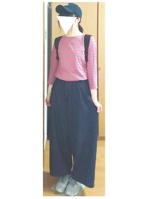 キャスケット欲しかったのに買ったのはキャップ。笑  cepoで買いました🙋  刺繍の色合いが可愛い~~    キャップの時は髪くくった方が良さげだな(`・ω・´)  良い感じにできた🙆    前回このボーダーT着た時と組み合わせがあまり変わらないのですが(汗)、先日 #ピンクコーデフェス に誘って頂いたので参加してみます~~( ´ ▽ ` )ノ  ピンクとカーキのボーダーT。      いいね SAVE ありがとうございます(・ω・)ノ