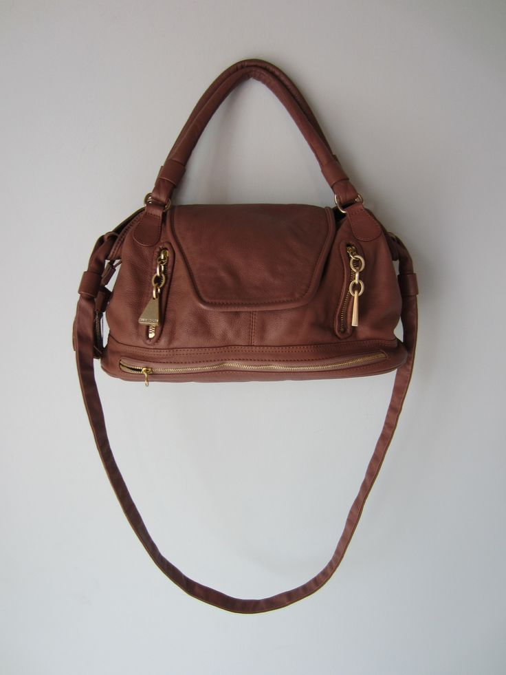 SEE BY CHLOE Brown Soft Leather Satchel