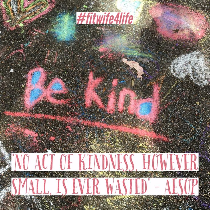 """""""No act of kindness, however small, is ever wasted"""" – Aesop #kindness #aesop #love #bridalicious #fitwife4life @fitwife4life"""