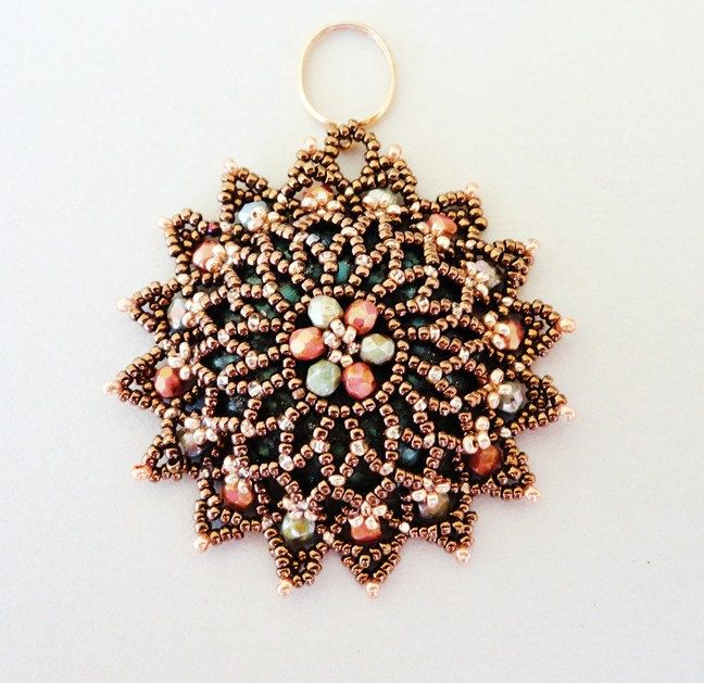 1027 best beads pendants images on pinterest bead jewelry bead notre dame beaded pendant beading tutorial beadweaving pattern seed bead beadwork jewelry beadweaving tutorials beading pattern instructions aloadofball Image collections