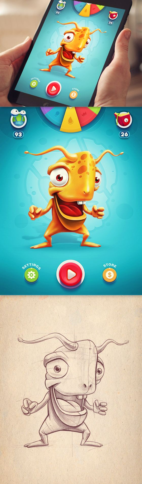 Vaganzaa iOS Game from Mike | Creative Mints