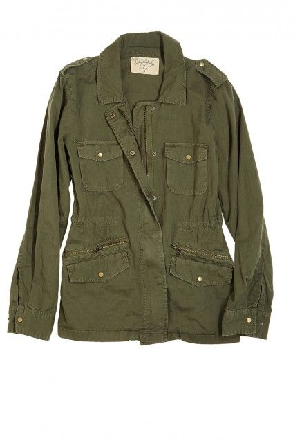 Looking for this jacket...Ruby Army Jacket by Velvet // Calypso St Barth