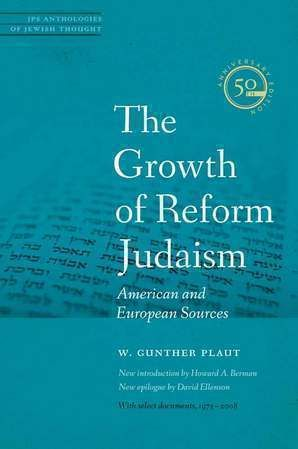 This fiftieth anniversary edition of W. Gunther Plaut's classic second volume on the history of the Jewish Reform Movement is a sourcebook of the original writings that shaped the second century of organized liberal Judaism.