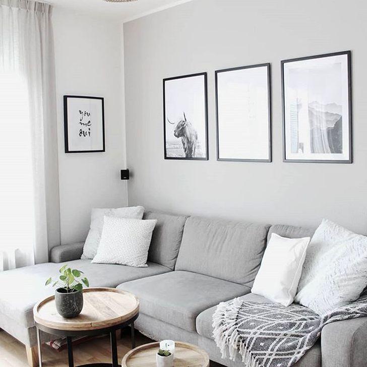 60 Elegant Scandinavian Living Room Design Ideas