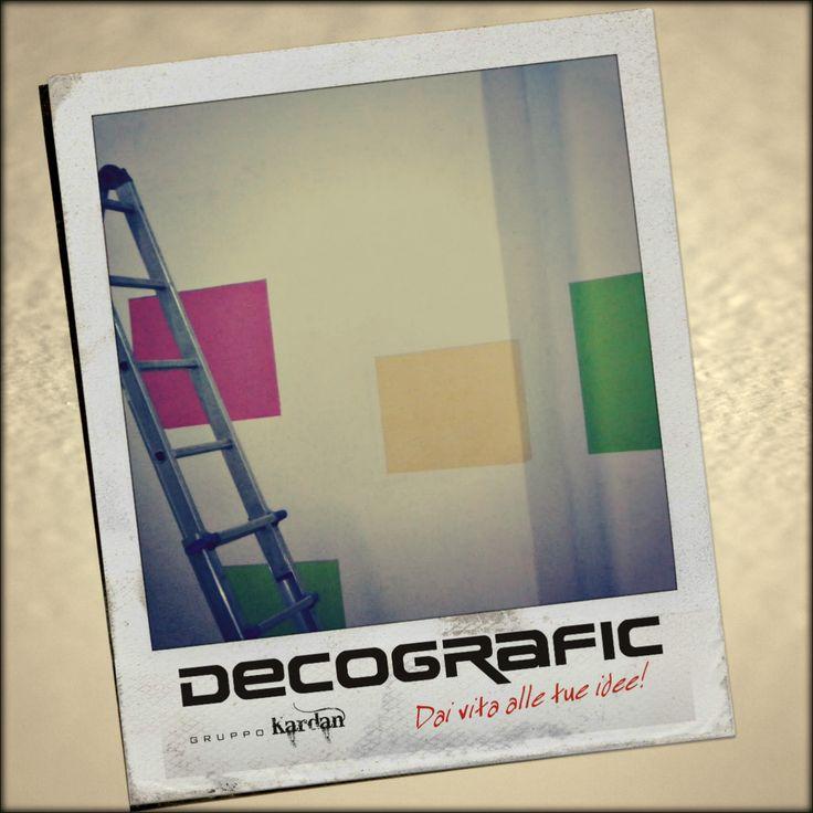 Colori in corso; quando ci allarghiamo, non lo facciamo tra quattro pareti bianche ;) www.decografic.com #Cogoleto #Genova #DecograficGenova   stampa, grafica & pubbliciyò