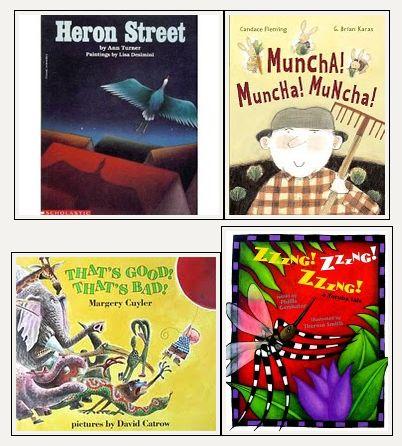 Books for Onomatopoeia