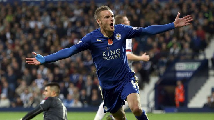 @Leicester Jamie Vardy #9ine