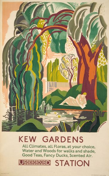 Kew Gardens, by Clive Gardiner, 1927