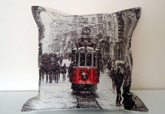 Wool  Pillow Turkish Hand Woven Kilim Pillow by BOHEMIANPILLOW, $65.00
