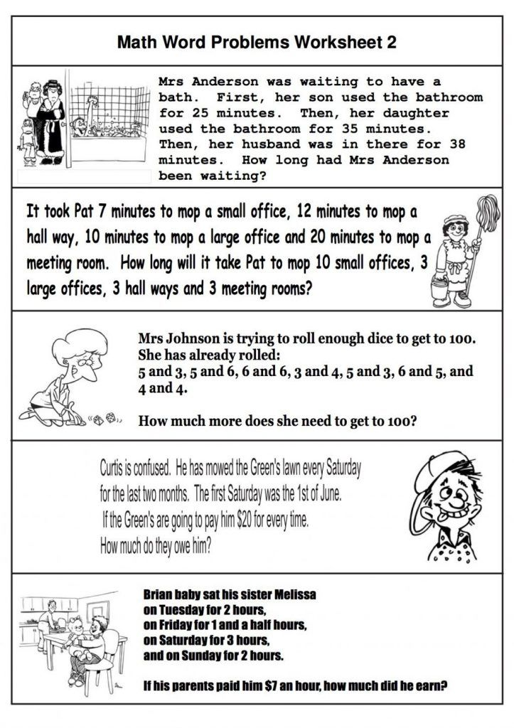 2nd Grade Math Word Problems Best Coloring Pages For Kids Math Word Problems Math Words Word Problem Worksheets