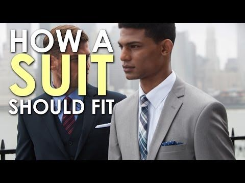 How To Suit Up: Here's How a Suit Should Fit?ref=pinp nn If you take one piece of advice away from this article, I hope it's that the first thing you should consider when buying a suit is not the cost but the fit.It really doesn't matter how much money you spend on a suit if it doesn't fit right, because it's going to...