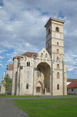 Roman Catholic cathedral in Alba Iulia, Transylvania