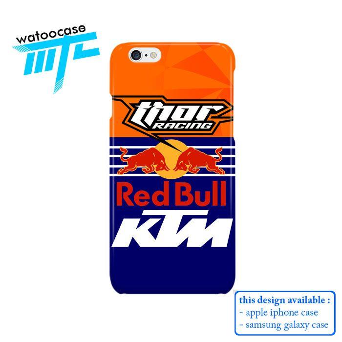Thor Racing RedBull KTM Phone Case   Apple iPhone 4 4s 5 5s 5c 6 6s Plus Samsung Galaxy S3 S4 S5 S6 S7 EDGE Hard Case