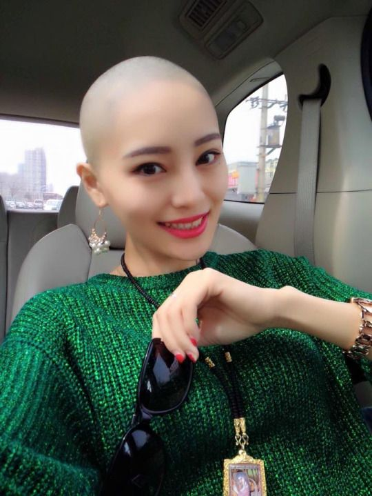 Pin On Bald Beautiful Women