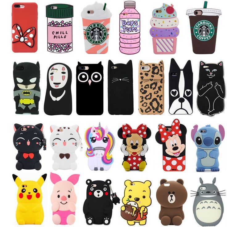 Details About For Iphone 3d Phone Case Cover Cute Animal Cartoon