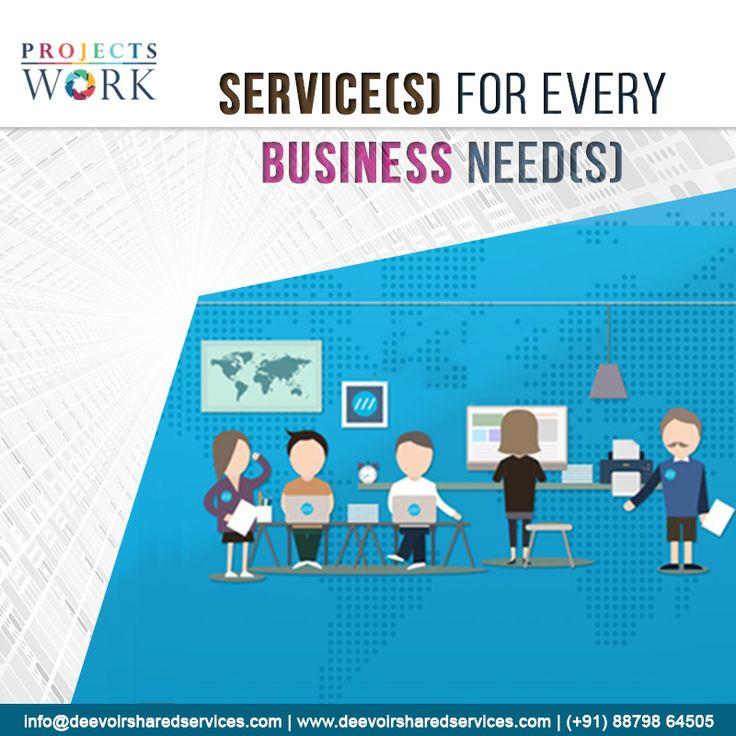 #ProjectsWork provides complete set of #SharedService #solution for new & established #businesses. Visit: goo.gl/a6sMJ8.