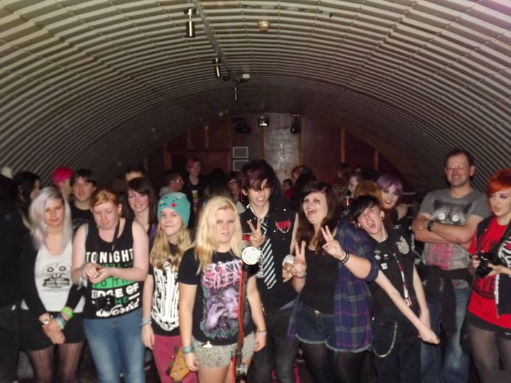 At the ashestoangels gig