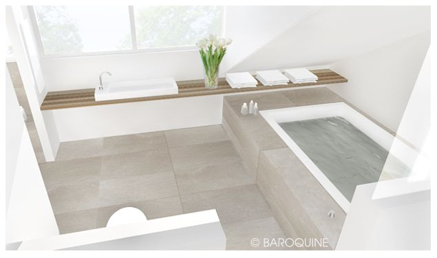 Baroquine: Badumbau | 14qm | Privathaus Groß Nordende