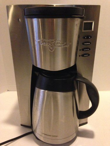 Starbucks Special Coffee Maker : 1000+ ideas about Stainless Steel Coffee Maker on Pinterest Coffee maker reviews, Mr coffee ...