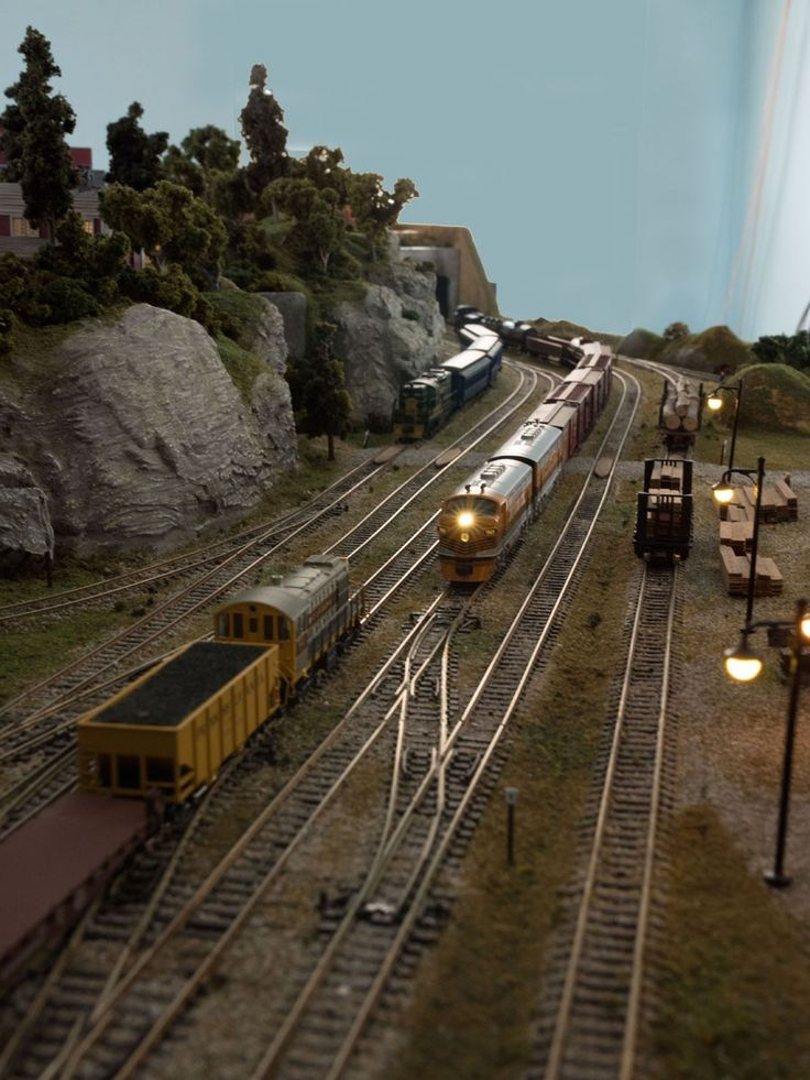The 5305 best Model trains images on Pinterest   Model train layouts ...