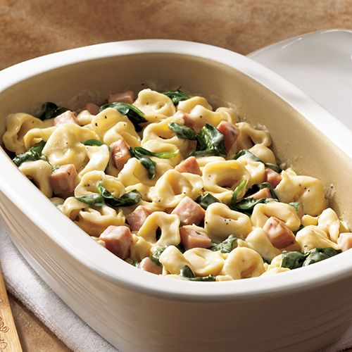Easy Tortellini Toss - The Pampered Chef® This is one of my family's favorite weeknight recipes!  From-scratch sauce is so good.  www.pamperedchef.biz/jennifersoto