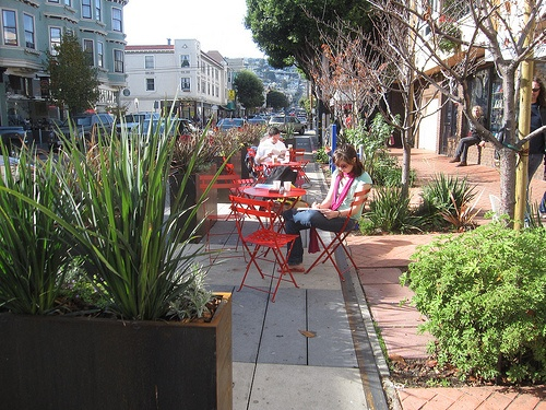 The city of San Francisco has launched a new website to help residents take advantage of city resources and programs for neighborhood-scaled street improvements such as parklets, bike parking, plantings, art installations, sidewalk fixtures, green infrastructure, and permits for car-free events.