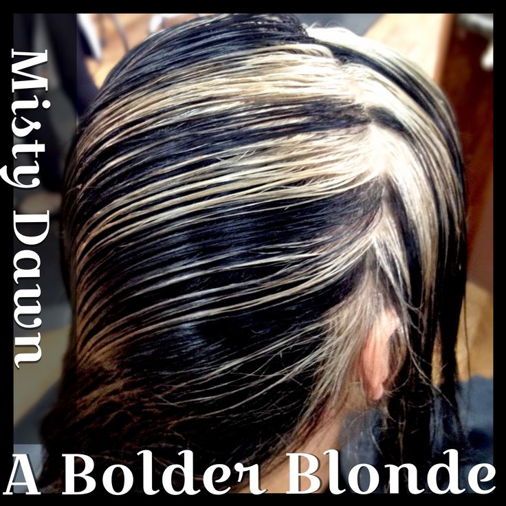 #ABolderBlonde #MistyDawn #Colorado #Salon #Dramatic #Highlights